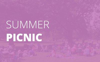 Summer Picnic – New Venue