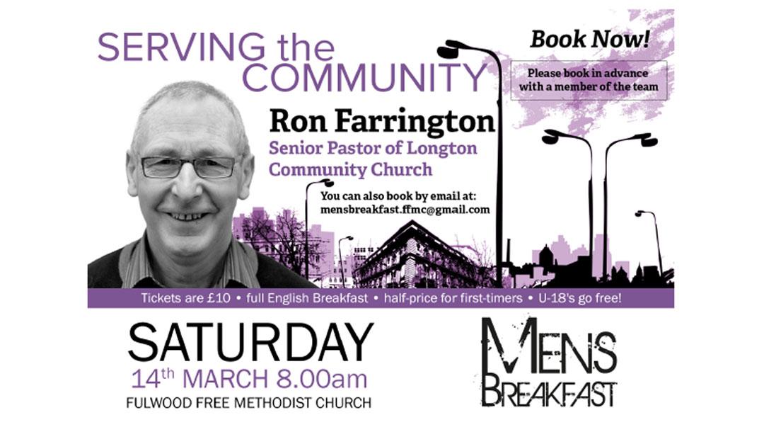 Men's Breakfast: Serving the Community with Ron Farrington