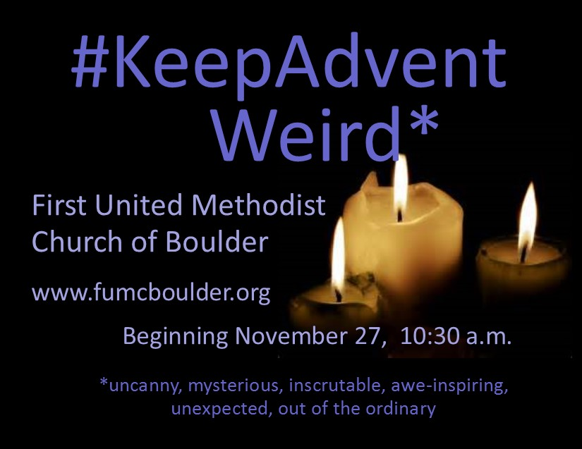 Celebrate Advent with us!