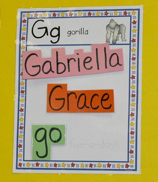 Word Walls in Preschool and Kindergarten