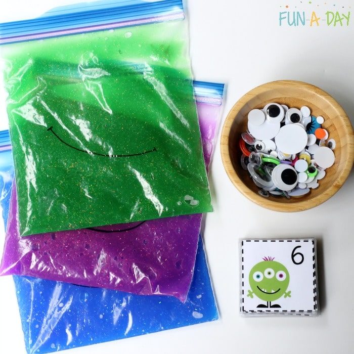 Monster Counting Activity and Free Printable Monster Number Cards