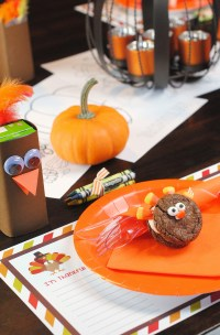 Thanksgiving Kids' Table Setting Ideas  Fun-Squared