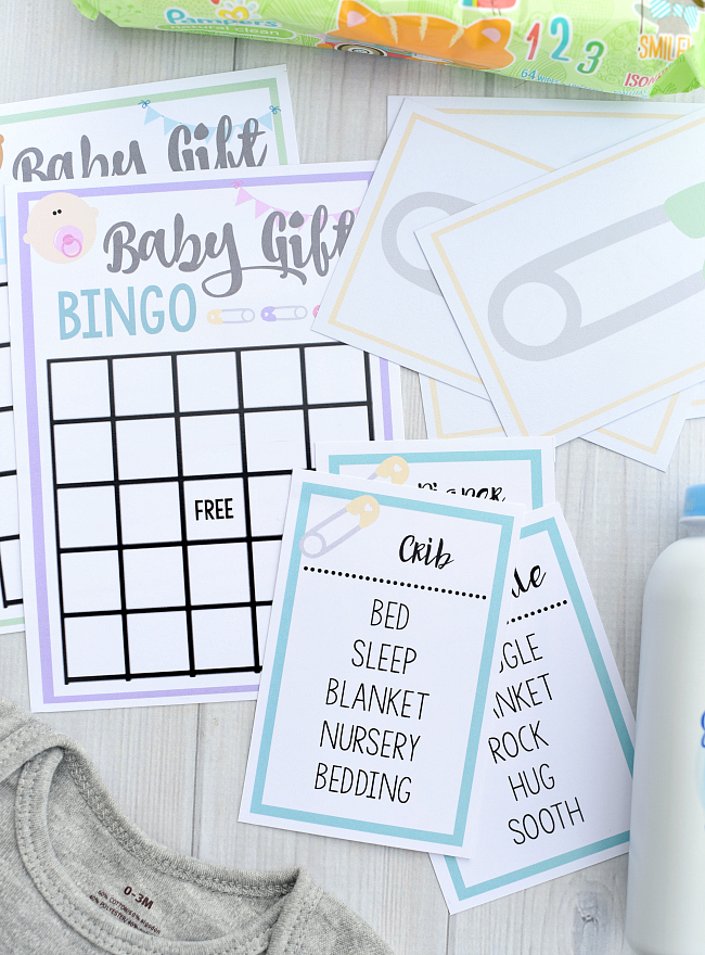 Free Printable Baby Shower Games for Large Groups \u2013 Fun-Squared