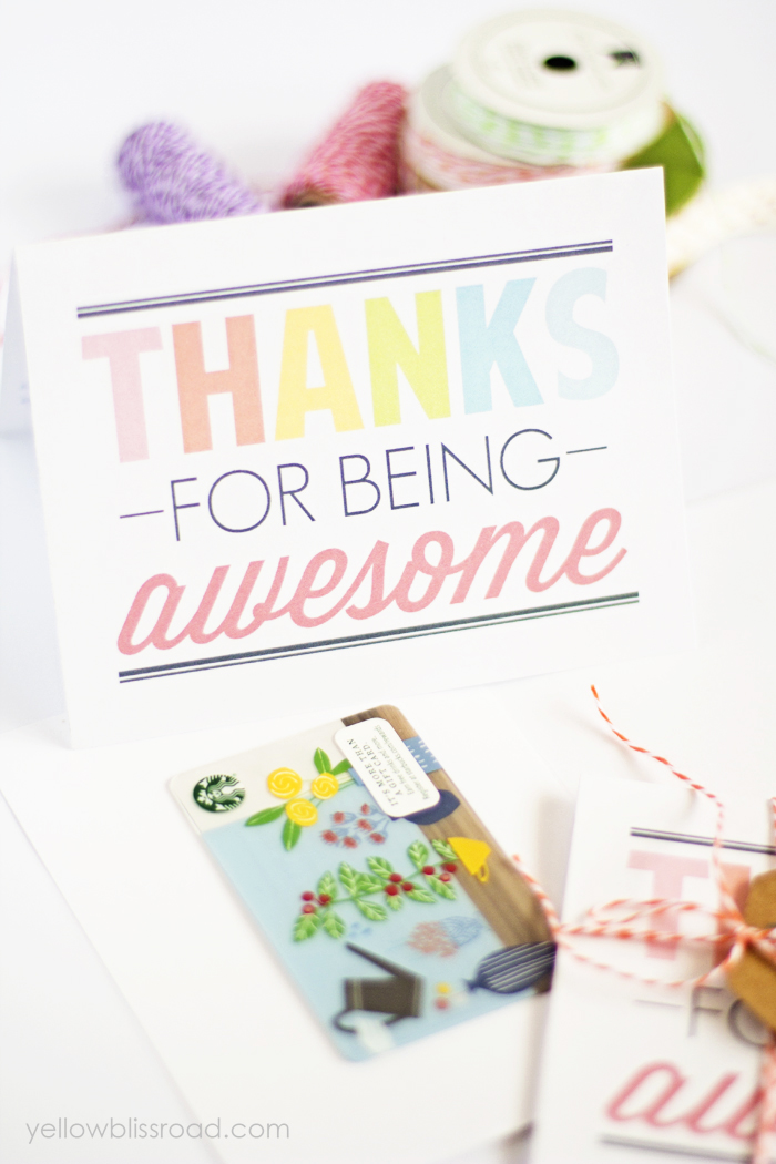 25 Creative  Unique Thank You Gifts \u2013 Fun-Squared