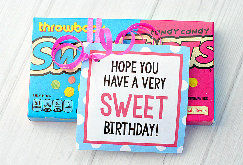 Candy Bar Sayings for Simple Birthday Gifts \u2013 Fun-Squared