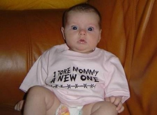 Toddler With Baby 14 Most Inappropriate Shirts For Babies Funcage