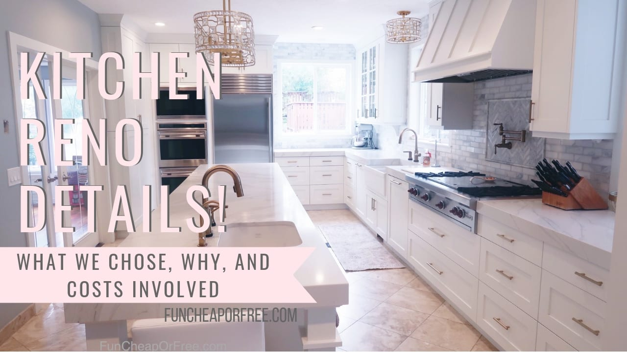 Kitchen Renovation Kitchen Renovation Details Everything You Want To Know About Our