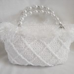 The Snow Princess Purse - perfect for wedding, prom, or special event. $45.00