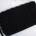 Black Simply Sweet Clutch w/ strap $15.00