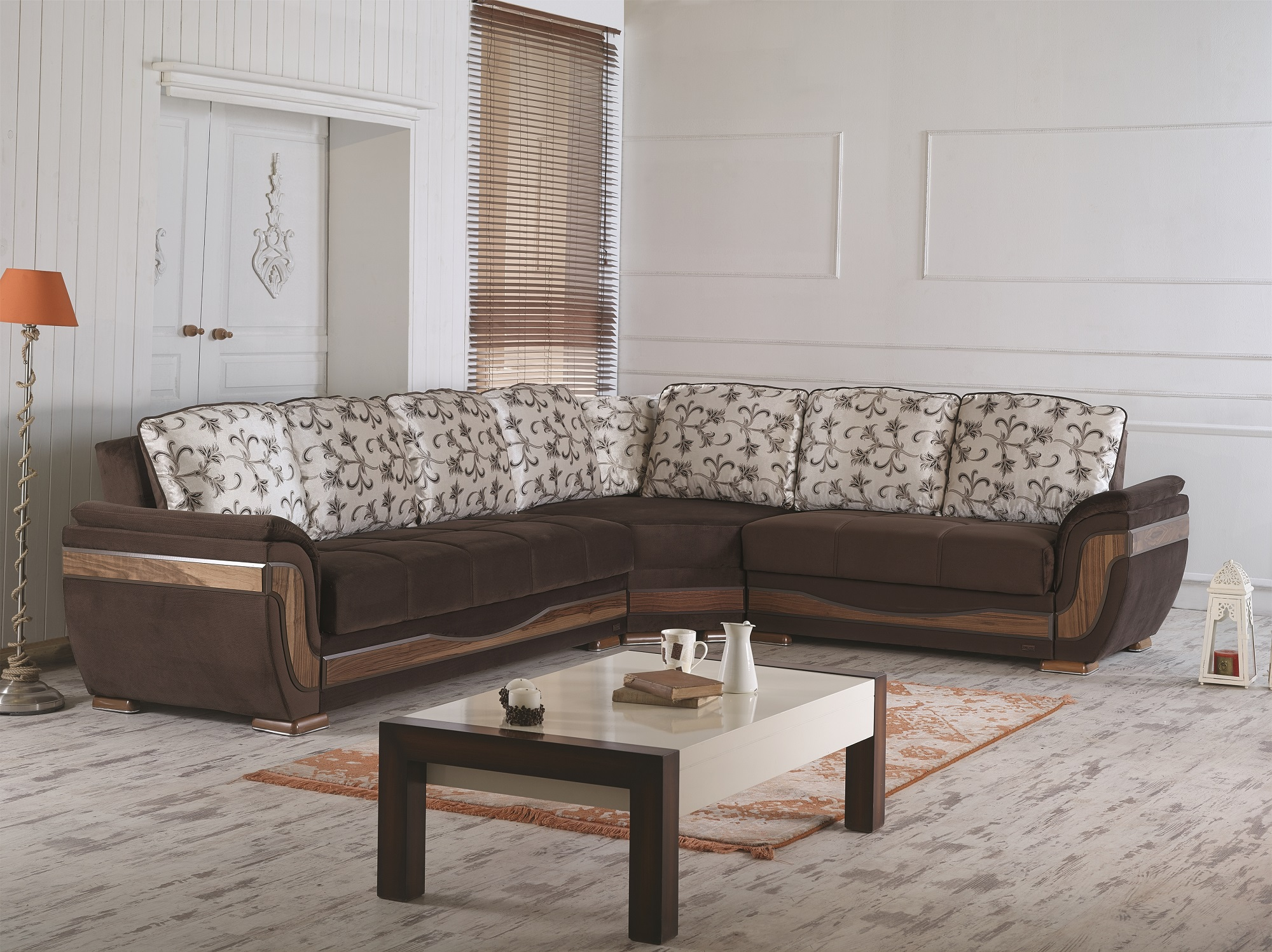 Sofa Furniture Usa Toronto Brown Fabric Sofa Bed By Empire