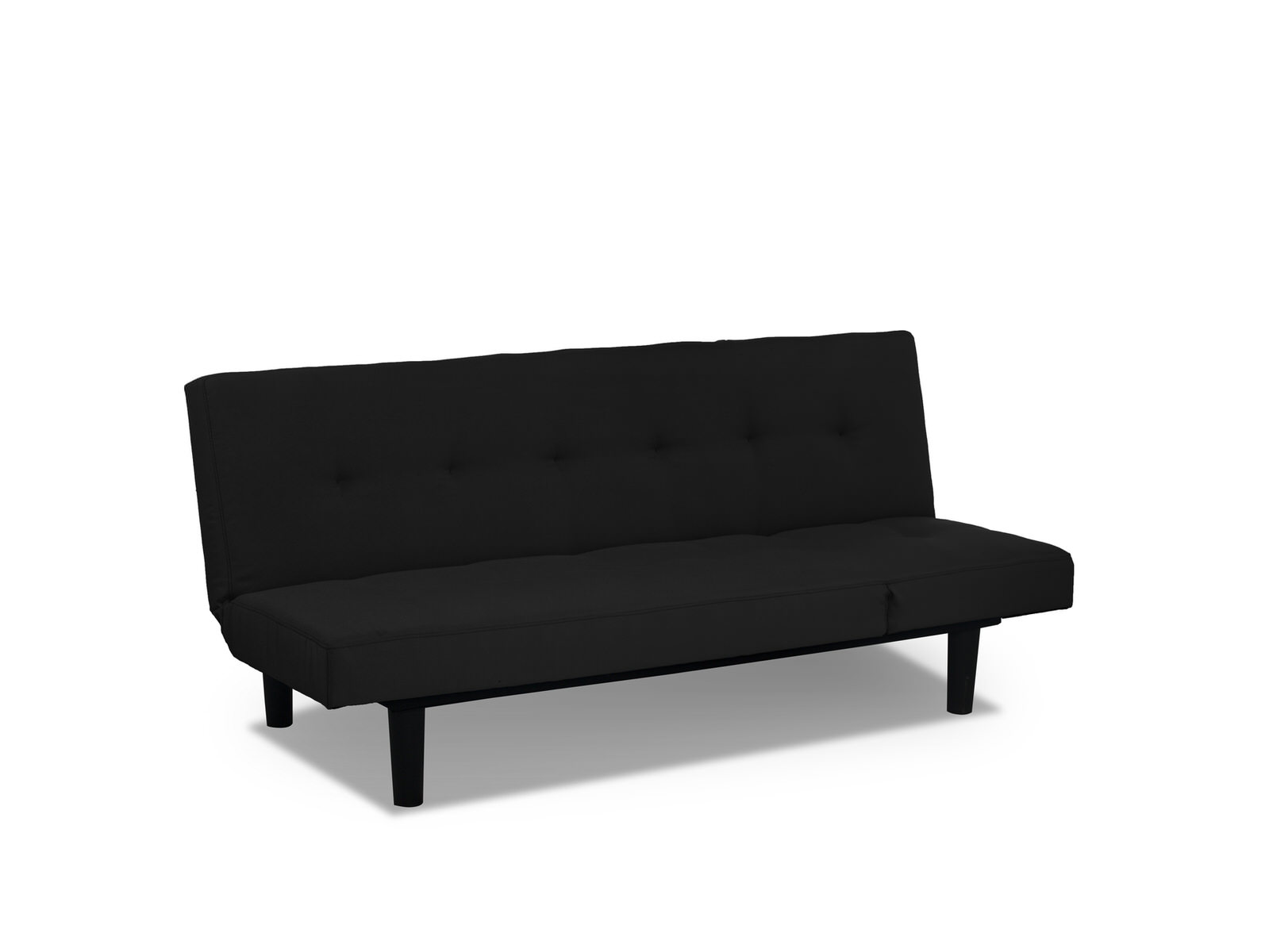 Mini Couch Mini Lounger Convertible Sofa Bed Black By Serta Lifestyle