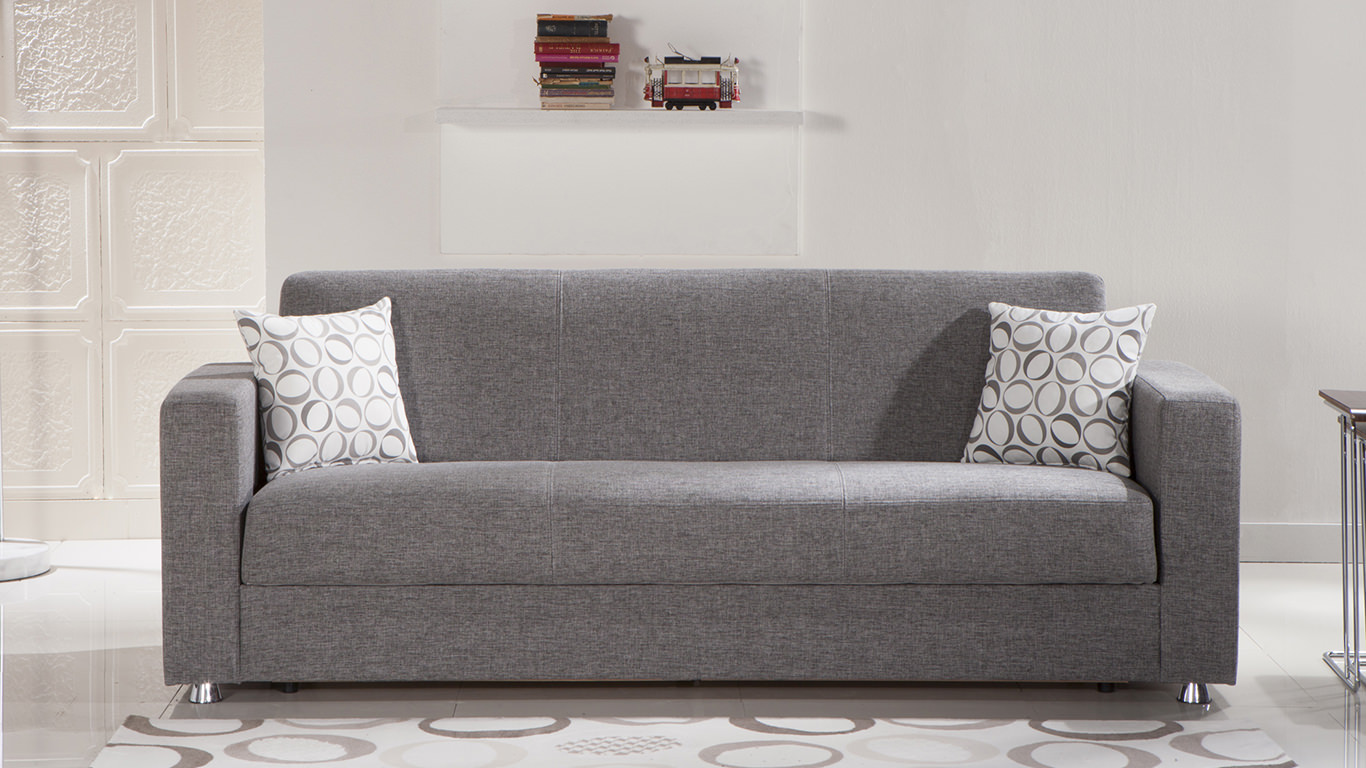 Sofa For Sale In The Philippines Tokyo Diego Gray Convertible Sofa Bed By Istikbal Furniture