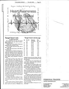 Heart Awareness Health Special