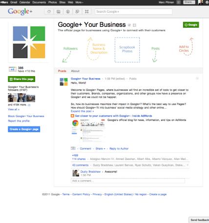 Google Plus for nonprofits