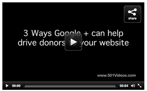 CLICK HERE to watch Movie Mondays- Google Plus for Nonprofits by Marc A. Pitman