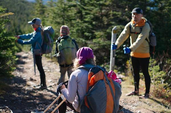 Resting on the trail - Kickstarter Crowdfunding Success