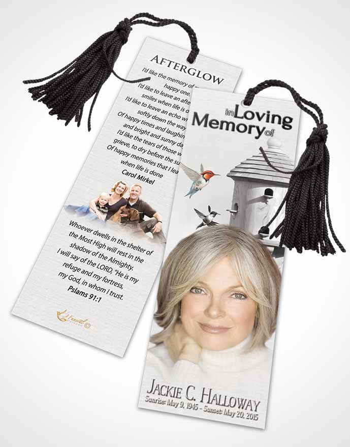 Bookmark Template Free Birds of a Feather