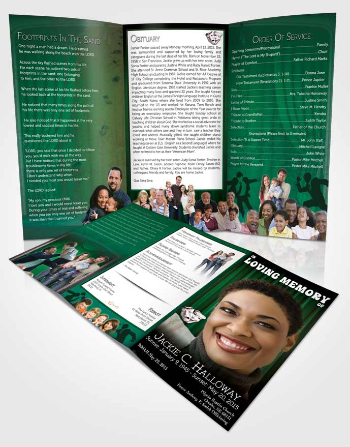 Top Result 60 Best Of Obituary Pamphlet Template Picture 2017 Gst3
