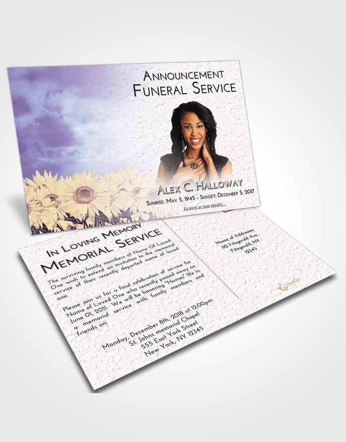 funeral invitation template - Nisatasj-plus