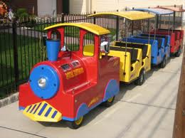 Trackless Train Rentals Kids Party Los Angeles Rent Trains Children's party equipment rentals san jose