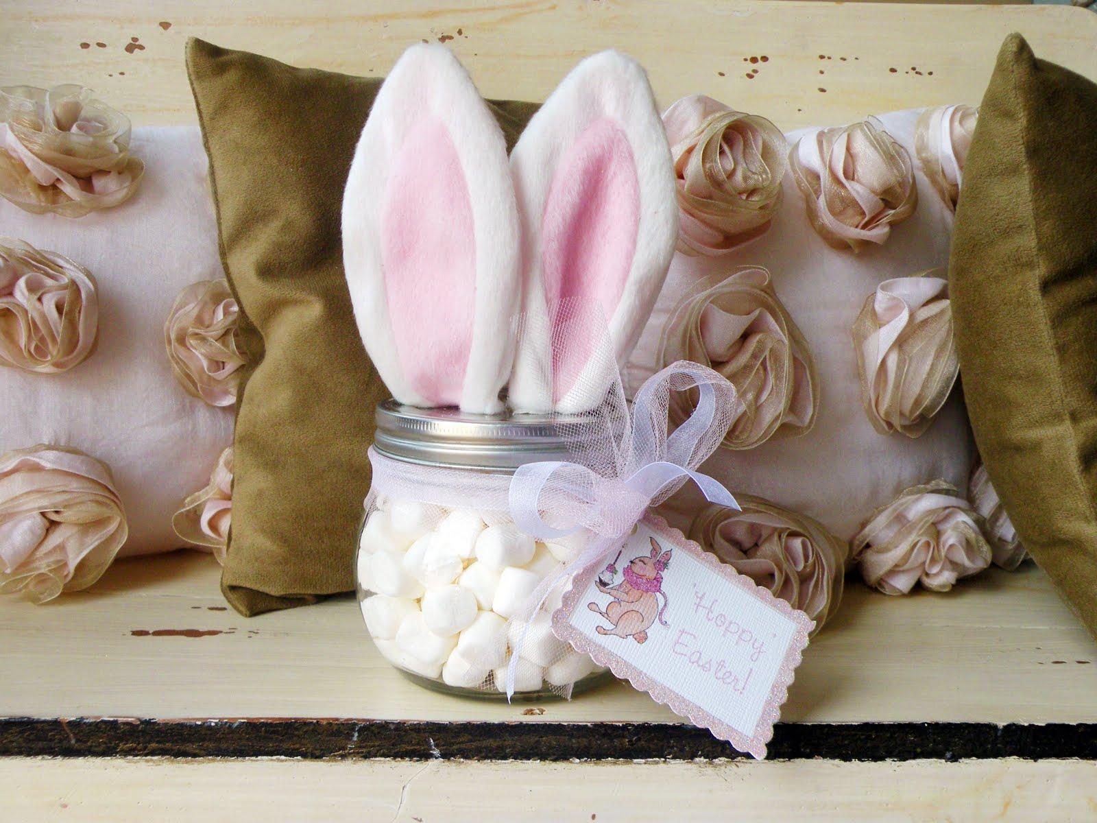 Cupcakes Cute Wallpaper Easter Bunny Jar Fun Family Crafts