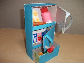 Refrigerator Tissue Box Fun Family Crafts