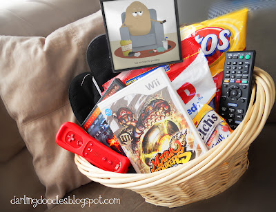 Couch Potato Gift Basket Fun Family Crafts