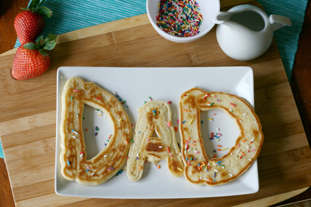 Diy Geschenke Papa Father's Day Pancakes | Fun Family Crafts