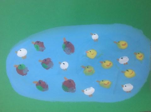 Duck Craft Valentine Craft Paper Plate