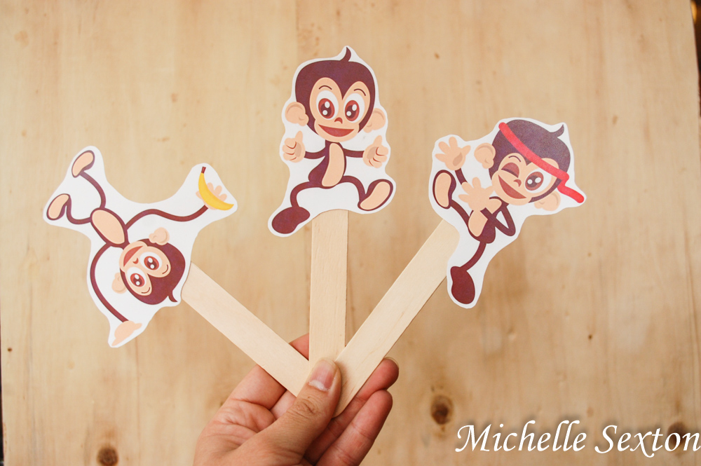 Free Printable Monkey Puppets Fun Family Crafts