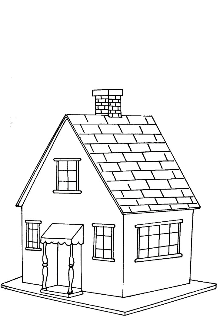 Croquis Maison Simple Coloriage Maison Simple Les Beaux Dessins De Meilleurs Dessins à