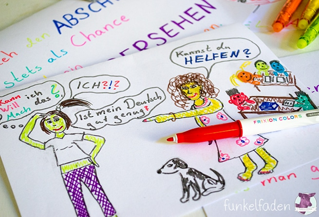 Frixion Colors PILOT Pen - Zeichnen