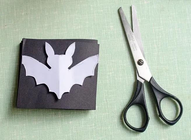 DIY - Fledermausgirlande für Halloween basteln