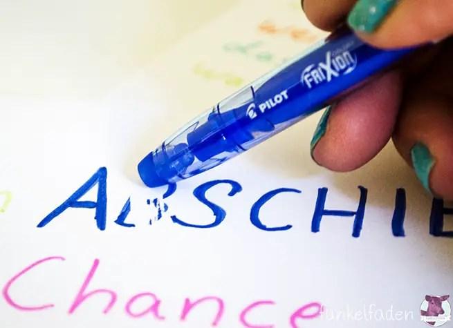 Frixion Colors PILOT Pen - Stifte zum Wegradieren