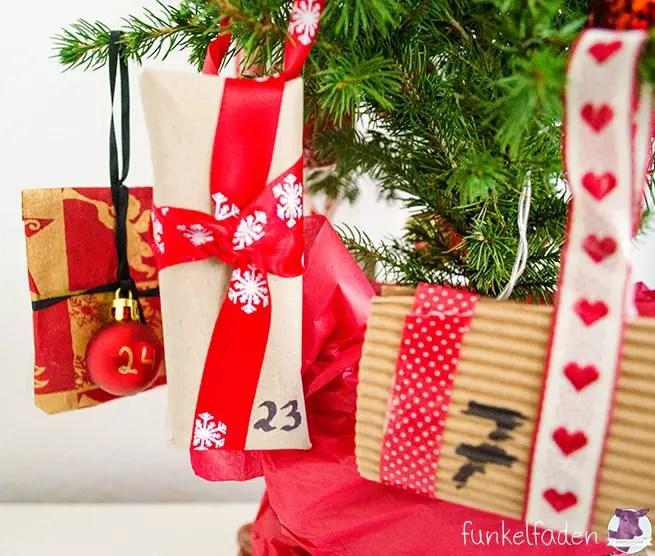 diy weihnachtsbaum adventskalender anleitungen do it yourself weihnachtsaktion. Black Bedroom Furniture Sets. Home Design Ideas