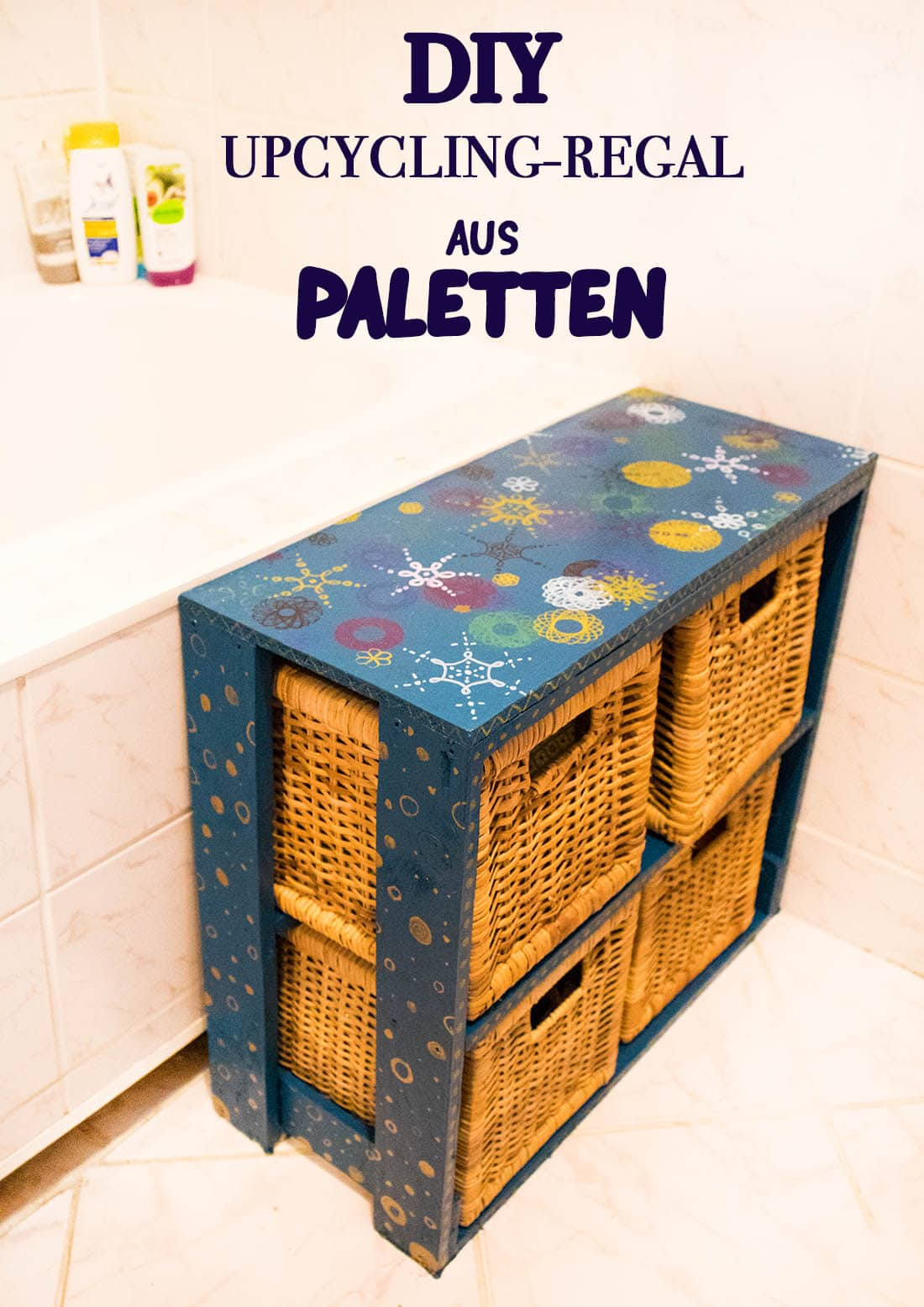 Regal Palette Upcycling Regal Aus Paletten Bauen Do It Yourself Diy