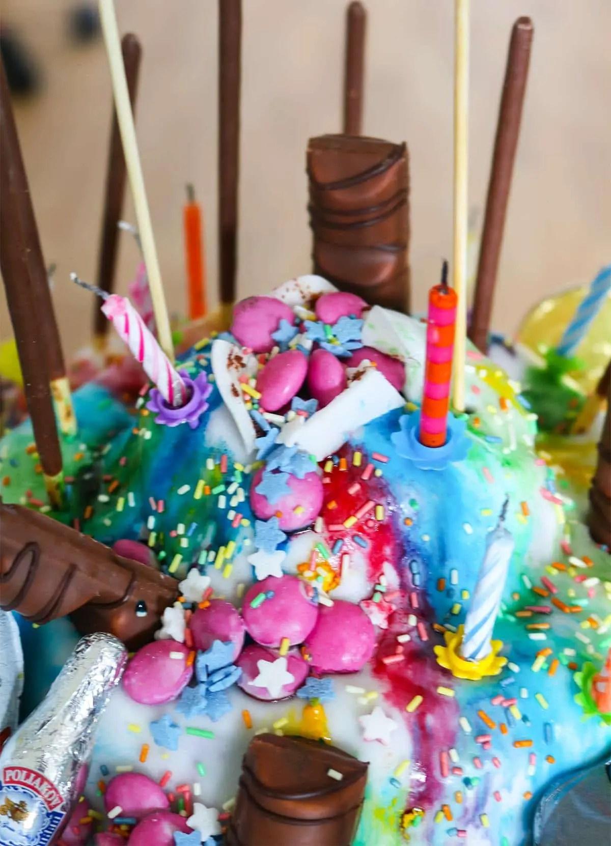 18 Geburtstag Kuchen Ideen Rostros Cakes In 2018 Pinterest Kuchen
