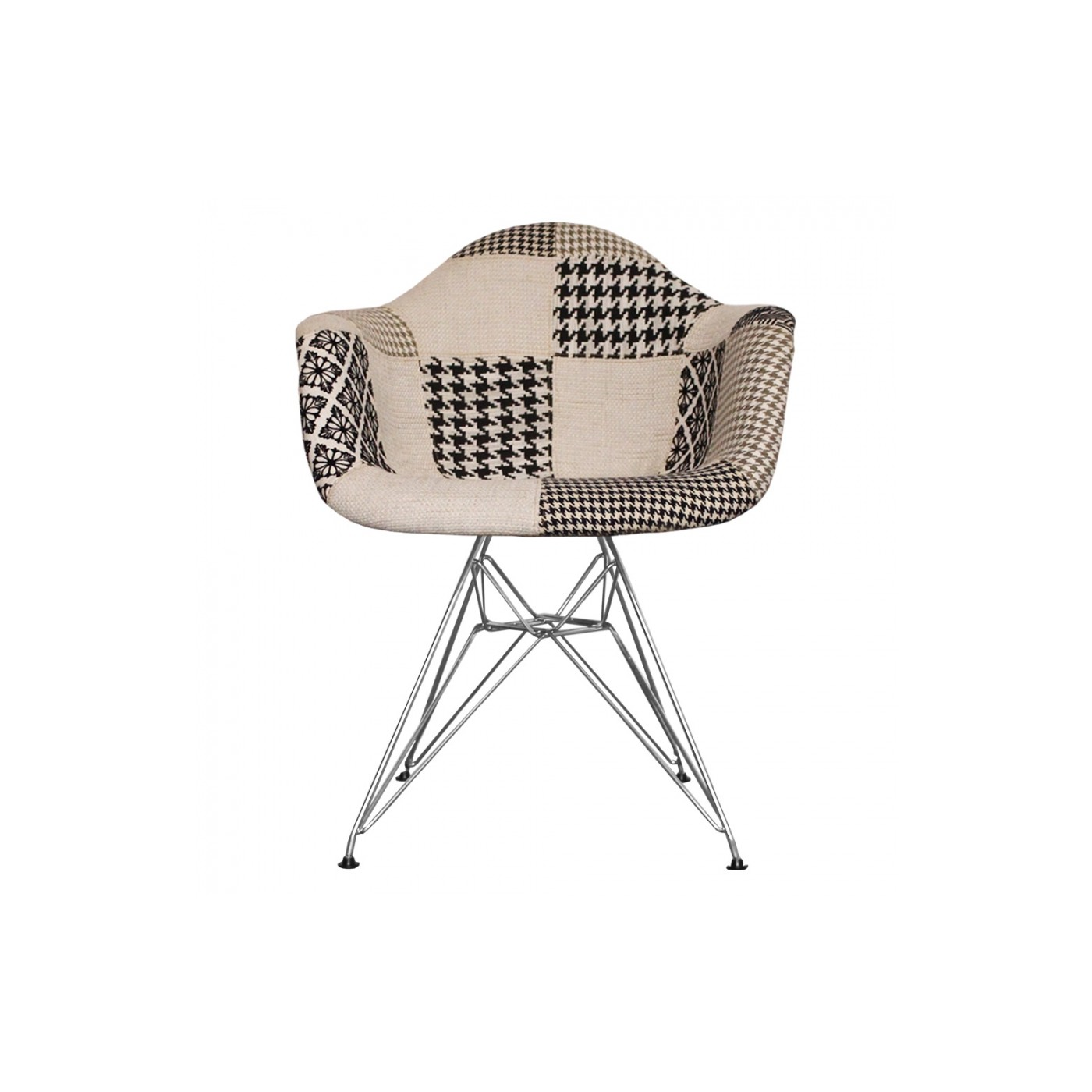 Eames Chair Dar Dar Arm Chair Patchwork Chair Charles Ray Eames Inspired