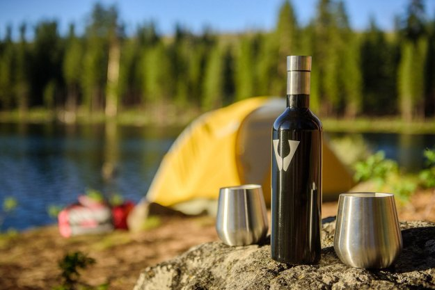 gifts for drinkers Vinotrek Wine Growler Insulated Stainless Steel Bottle