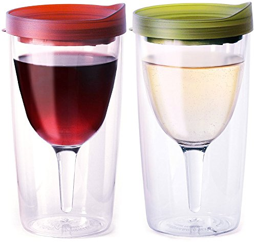 Vino2Go wine glasses