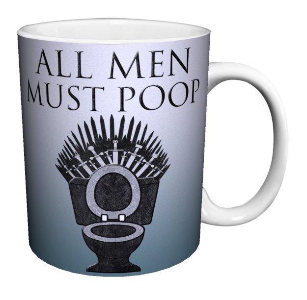 all men must poop