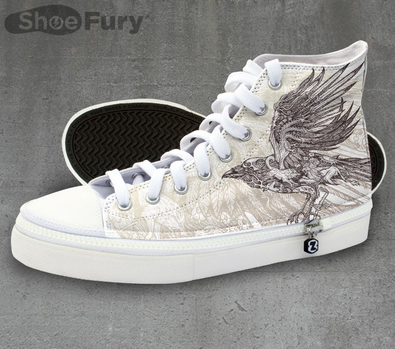 Send a raven for these Game of Thrones sneakers!
