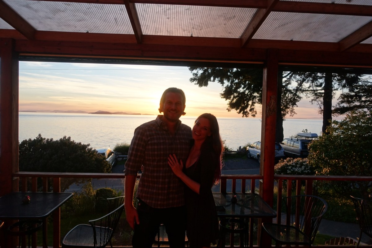 From prison to proposal: Our small island, big dinner, engagement