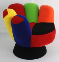 Funky Mitt Hand Chair - Something Different : Funk This House