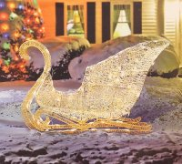 Outdoor Sleigh Decorations to Celebrate the Season