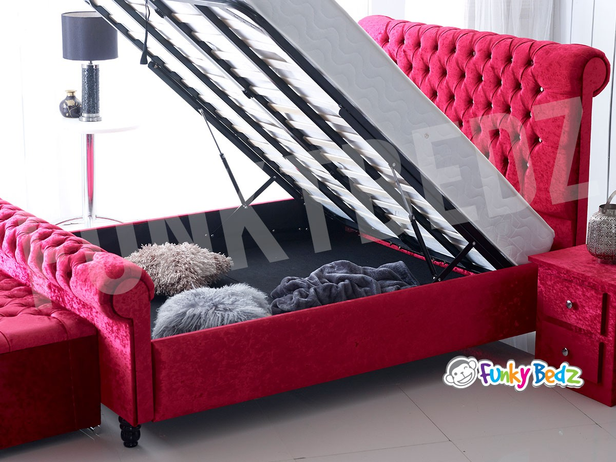 Gas Lift Ottoman Bed Funky Bedz Beds Direct Beds With Storage Beds For Sale
