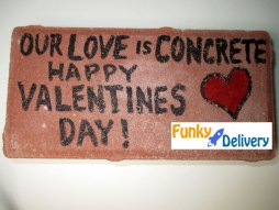 Happy Valentine's Day Brick