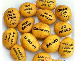 Potato Bouquet - Your Messages on Potatoes