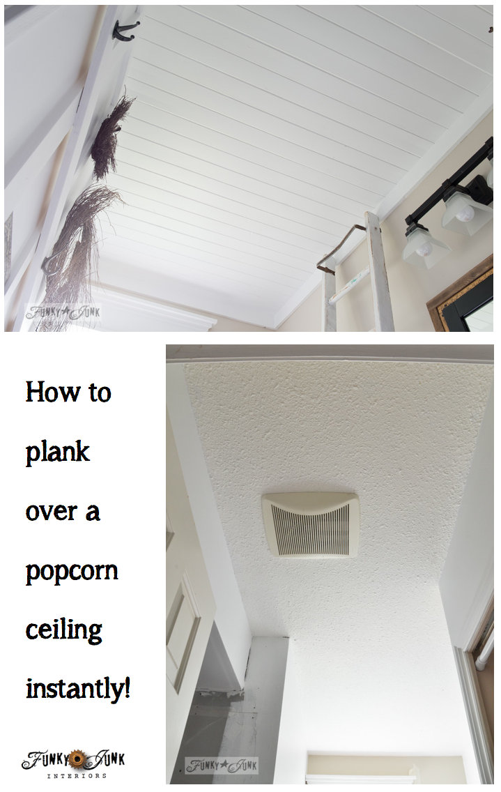 How To Plank A Bathroom Ceiling