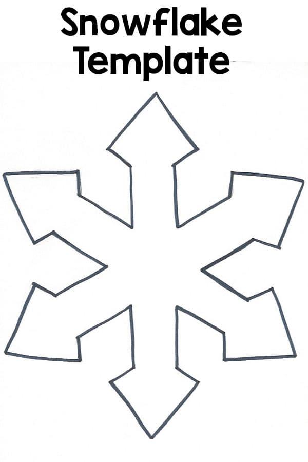 Snowflake Template - snowflake template